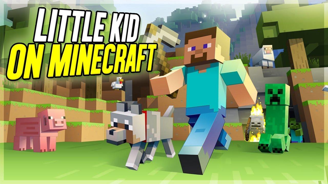 HILARIOUS LITTLE KID ON MINECRAFT! (Minecraft Trolling)