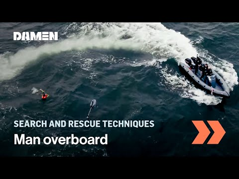 Testing new technology for Search and Rescue operations at sea.