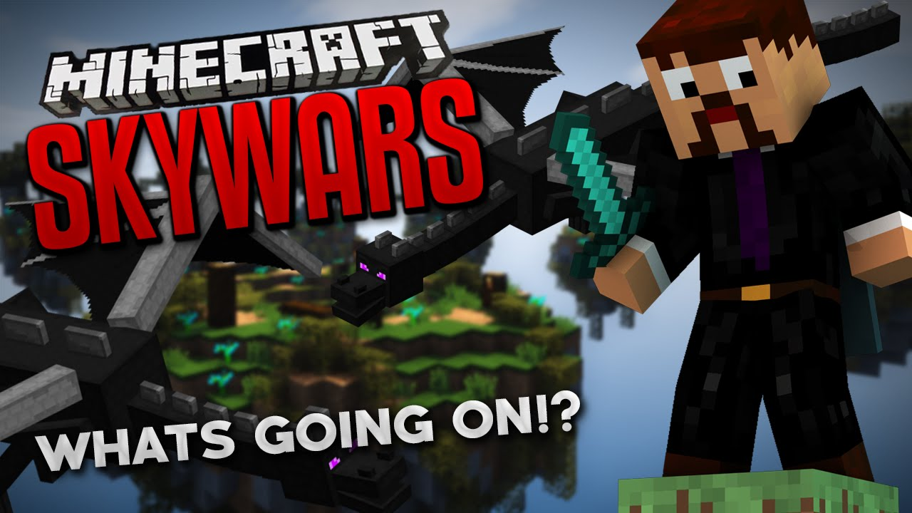 WHATS GOING ON!? (Minecraft Skywars)