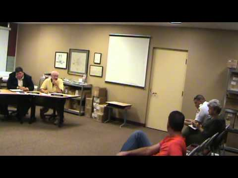 Greensburg IN City Planning Commission meeting of 9-17-13 part 1 of 2