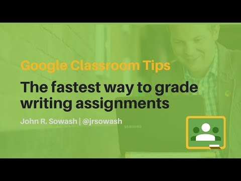 google-classroom-tips:-the-best-way-to-grade-writing-assignments