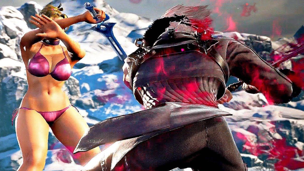 Soul Calibur 6 - Good Ending & Final Boss Fight (PS4 PRO)