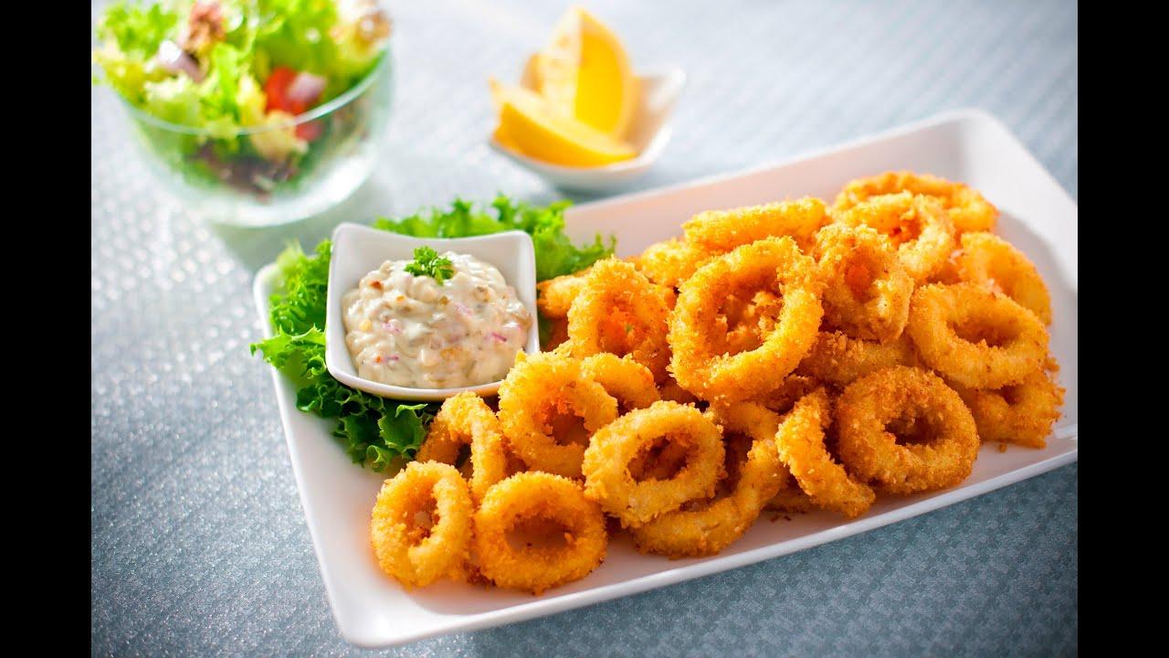Tasty Treat Sotong Goreng Tepung Fried Calamari Youtube