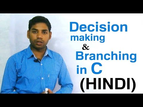 Decision Making and Branching Using IF Statement in C (HINDI)