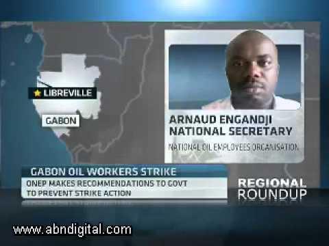 Gabon's Planned Oil Union Strike with Arnaud Engandji