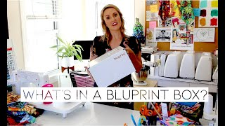 WHAT IS A BLUPRINT BOX? | Unboxing Knitting