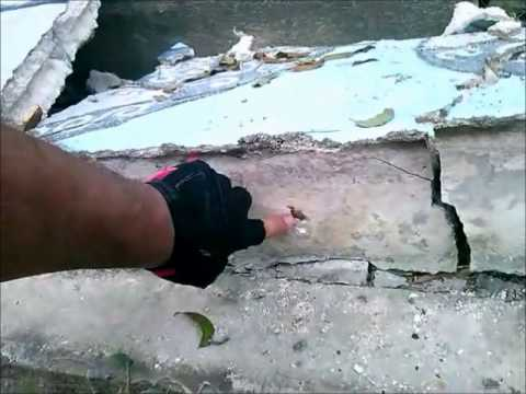 Bohol Earthquake:  Examining Fallen Wall Construction - Philippines