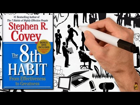 THE 8TH HABIT BY STEPHEN COVEY | ANIMATED BOOK SUMMARY Mp3
