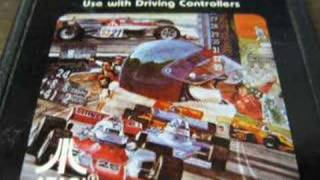 Classic Game Room - INDY 500 review for Atari 2600