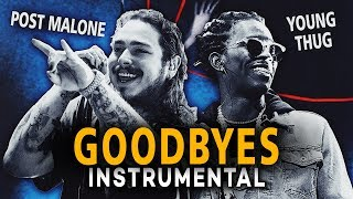 Baixar Post Malone & Young Thug - Goodbyes (Instrumental) [Reprod. By Diamond Style]