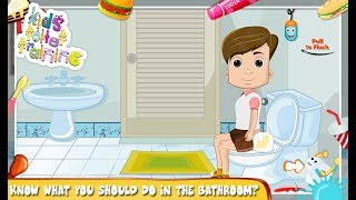 Kids Toilet Training Baby's Potty babybus Educational Android Ios Free Game GAMEPLAY