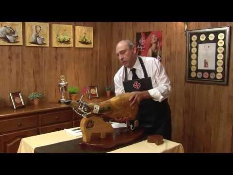 (FR)  Comment couper le jambon poster