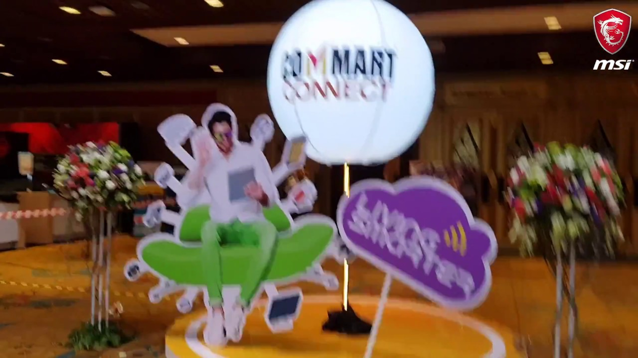 MSI@Commart Connect 2018