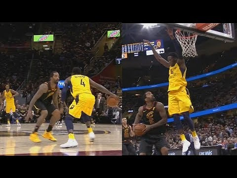 Jr Smith Shuts Down Victor Oladipo Then Fools Him With Pump Fake!