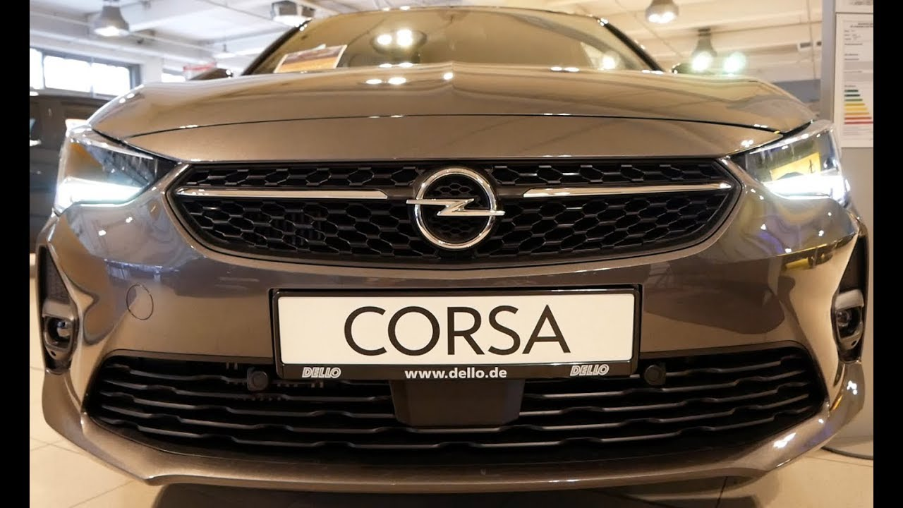 2020 New Opel Corsa F Exterior and Interior - YouTube