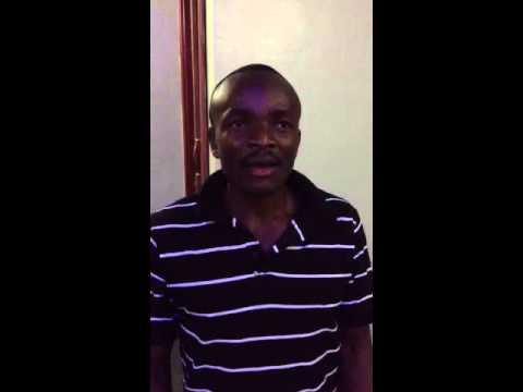 Albert talks about Asante Africa Foundation 2013 Strategic