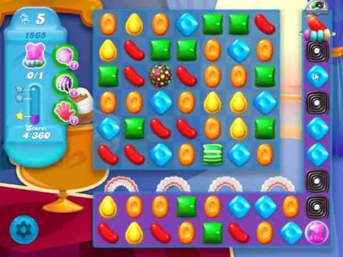 Candy Crush Soda Saga Level 1565 - NO BOOSTERS