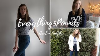 Everything5Pounds Haul + Outfit Inspo