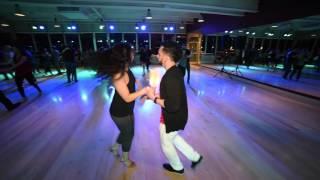 Kristian Y Elisa (Tumbao Latin Dance Worcester) @ Black Mamba's Salsa Social