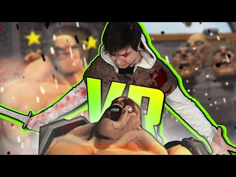 "РАЗБОРКА ЗА ЗАБОРОМ - GORN - VIRTUAL REALITY ""VR"""