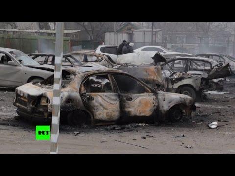 ДНР называет обвинения Киева в причастности ополченцев к обстрелу Мариуполя провокацией