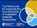 Top Resources for Achieving the Core Elements of Outpatient Antibiotic Stewardship