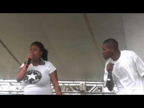 Dre leez live at black family reunion pt 2