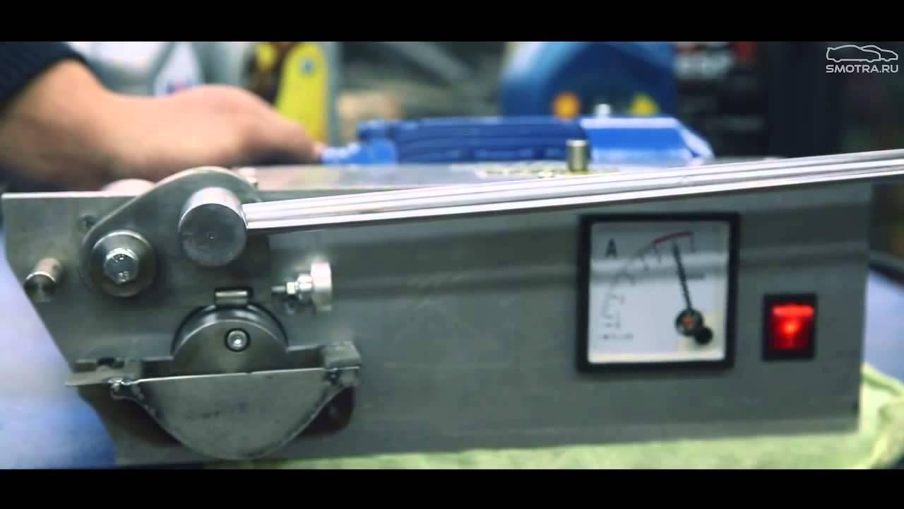 Видео от Эрика Давидыча с канала Smotra о тесте масел на машине трения