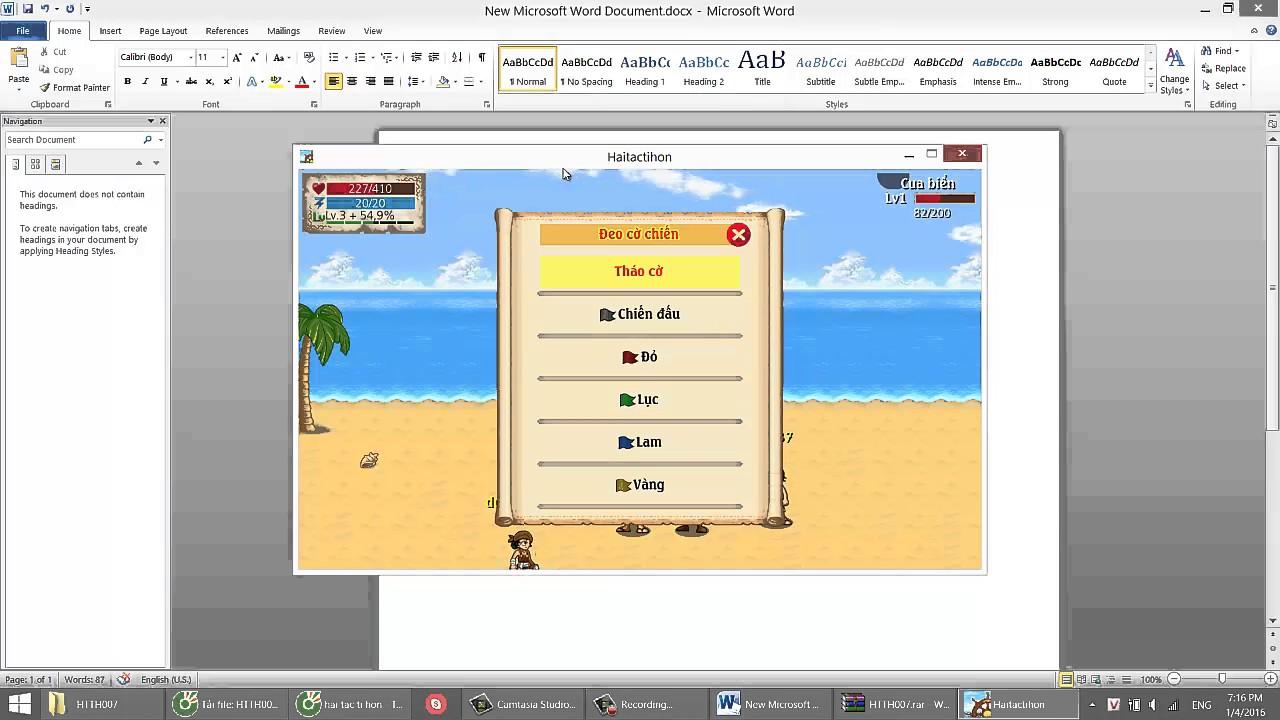 Hướng Dẫn Chơi Game Hải Tặc Tí Hon Trên Máy Tính, PC