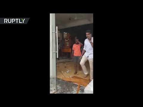 اللحظات الأولى لتفجير إحدى الكنائس في العاصمة السريلانكية  - نشر قبل 10 ساعة