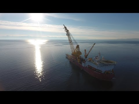 TANAP offshore pipeline - Corinth project video 1080p