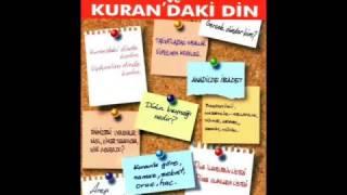 'Uydurulan Din ve Kuran'daki Din' Kitabının Amacı (Sesli Kitap)