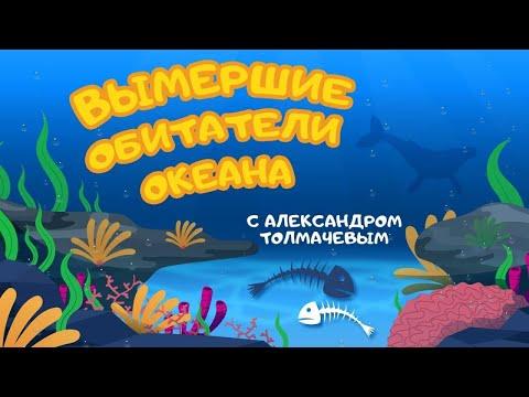 """""""Вымершие обитатели океана"""" Познавательная программа с Александром Толмачевым @Моя Планета"""