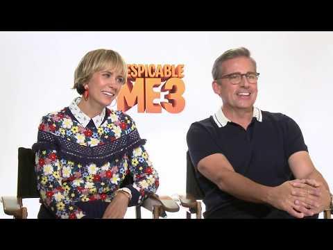 Despicable Me 3 Interview - Steve Carell & Kristen Wiig