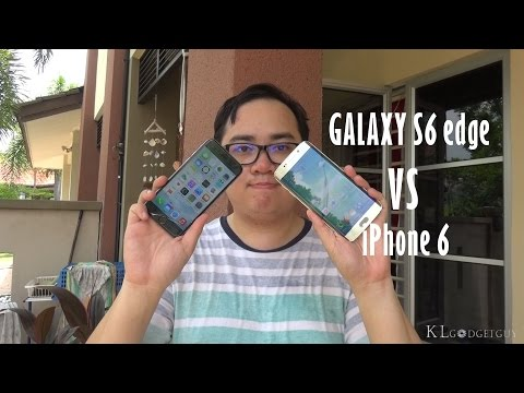 Samsung Galaxy S6 edge vs Apple iPhone 6: Which is better?: NOTE: The Galaxy S6 Edge is only available in the 32GB storage model in Malaysia and we have therefore compared to the 64GB iPhone 6, since there is no 32GB model of the latter.  King of Android (Galaxy S6 edge) vs The Fruit Flagship (Apple iPhone 6), which is better? We tell you and you pick!   About KLGadgetGuy.com: With the aim of exploring everything about tech, then educate and entertain people who wants to know more about it. KLGadgetGuy is a growing tech editorial/media based in Malaysia with a team of editors that tells you about the value of a tech product and service while we help tech partners further reach out their customers. Visit us at www.klgadgetguy.com for tech news, gadget reviews and more.  We're on social media too! twitter.com/klgadgetguy fb.com/klgadgetguy plus.google.com/+klgadgetguy Instagram.com/klgadgetguy  Copyright KLGG Media Publications 2015.