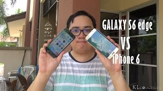 samsung galaxy s6 edge vs apple iphone 6 which is better