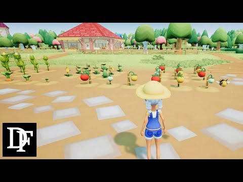 New Open World Farming Game! First Look - Lullaby Gardens Gameplay HD