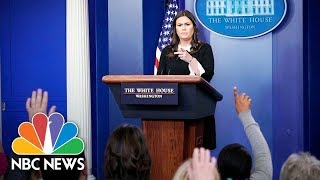White House Press Briefing - April 23, 2018 | NBC News