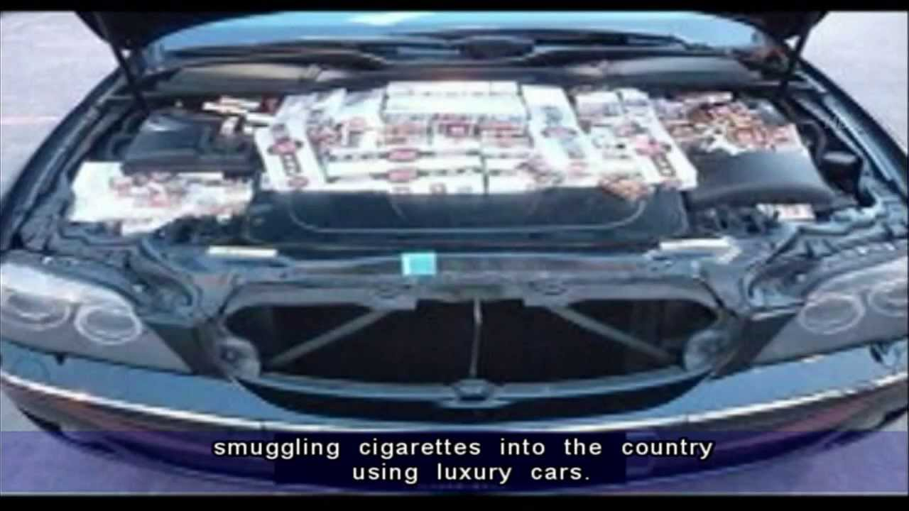 More Use Luxury Cars To Smuggle Contraband Cigarettes