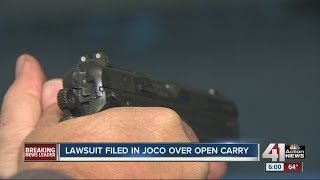 Lawsuit filed in Johnson Co., Kan., over open carry