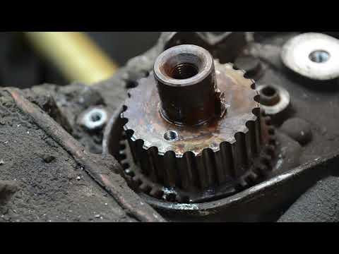 Разбор двигателя 7A-FE