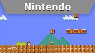 Nintendo World Championships - Super Mario Maker Level 1 @ E3 2015