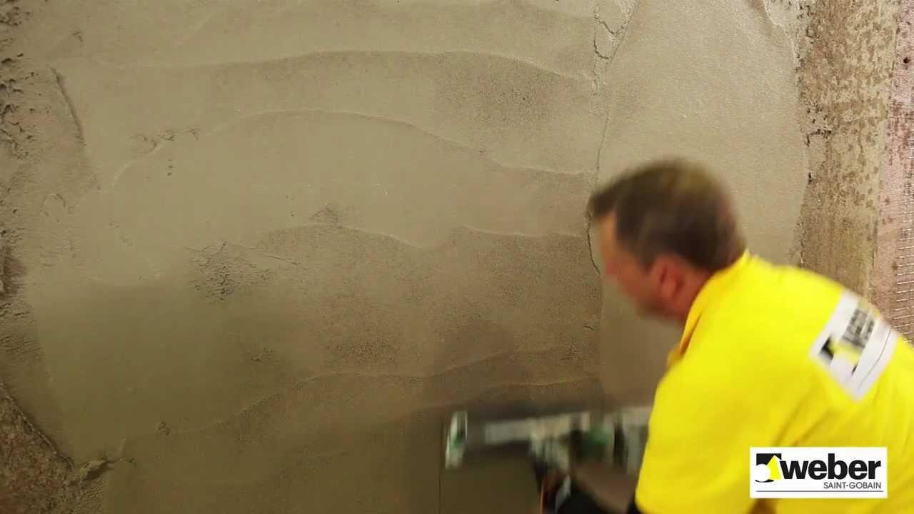 putsa med betong