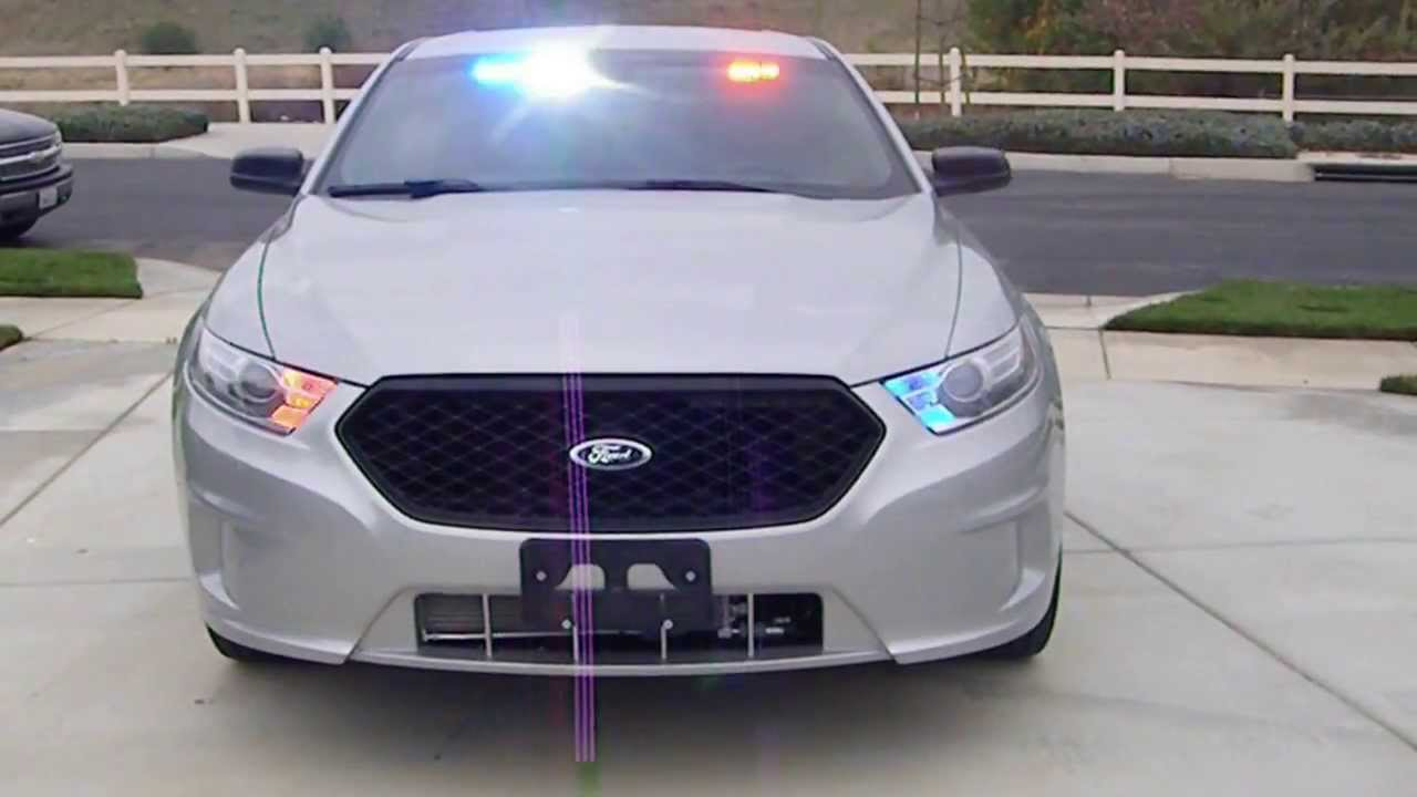 2013 Ford Police Interceptor Undercover - YouTube