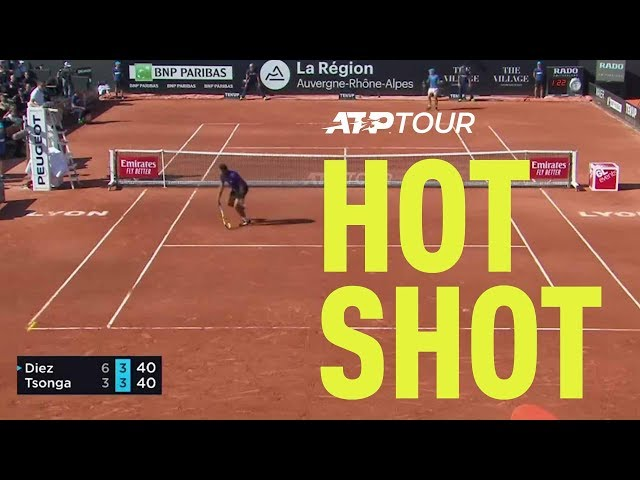 Hot Shot: Diez Finds A Gap | Lyon 2019