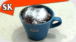 CHOCOLATE MUFFIN IN A MUG - Very Easy Recipe - Cake in a Cup