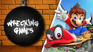 WRECKING GAMES #10 - Super Mario Odyssey (feat. Monsieur Plouf)