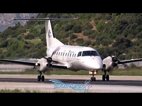 BASe - Embraer EMB-120RT Brasilia HA-FAI - Takeoff from Split Airport LDSP/SPU