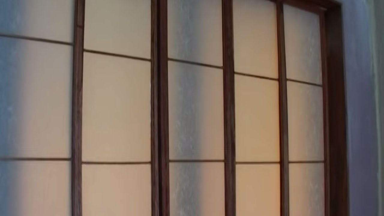 How to Make Japanese Screen Panels - YouTube