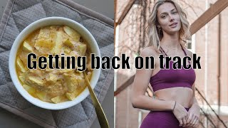 Getting Back On Track // Making Lunch And Training Abs // Joëlle Denice